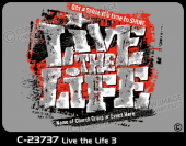 C-23737 - Live the Life 3 - Apparel Template