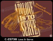 C-23738 - Love and Serve - Apparel Template