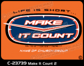 C-23739 - Make It Count 2 - Apparel Template