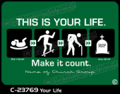C-23769 - Your Life - Apparel Template
