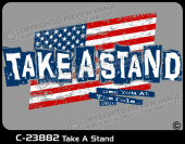 C-23882 - Take A Stand - Apparel Template
