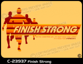 C-23937 - Finish Strong - Apparel Template