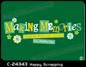 C-24343 - Happy Scrapping - Apparel Template