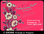 C-24346 - Friends and Flowers - Apparel Template