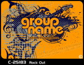 C-25183 - Rock Out - Apparel Template