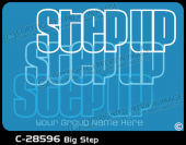 C-28596 - Big Step - Apparel Template