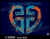 C-29131 - Love God - Apparel Template