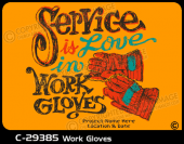 C-29385 - Work Gloves - Apparel Template