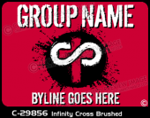 C-29856 - Infinity Cross Brushed - Apparel Template