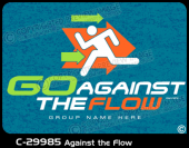 C-29985 - Against the Flow - Apparel Template