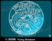 C-30181 - Funky Breakers - Apparel Template