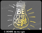 C-30185 - Be the Light - Apparel Template