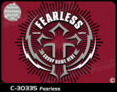 C-30335 - Fearless - Apparel Template
