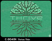 C-30491 - Thrive Thin - Apparel Template
