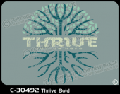 C-30492 - Thrive Bold - Apparel Template