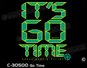C-30500 - Go Time - Apparel Template