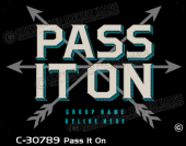 C-30789 - Pass It On - Apparel Template