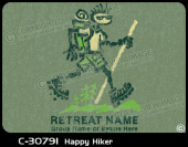C-30791 - Happy Hiker - Apparel Template