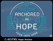 C-30795 - Hope Anchor - Apparel Template